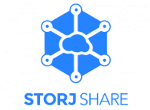 Bannière du logo de StorjShare