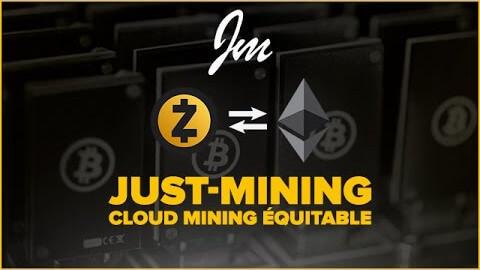 Just-Mining, le cloud-mining à la française