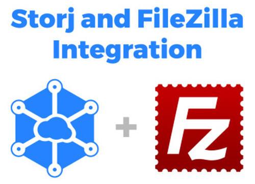 Intégration de Filezilla sur Storj