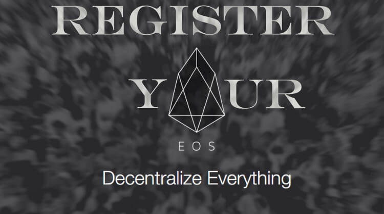 Register Your EOS