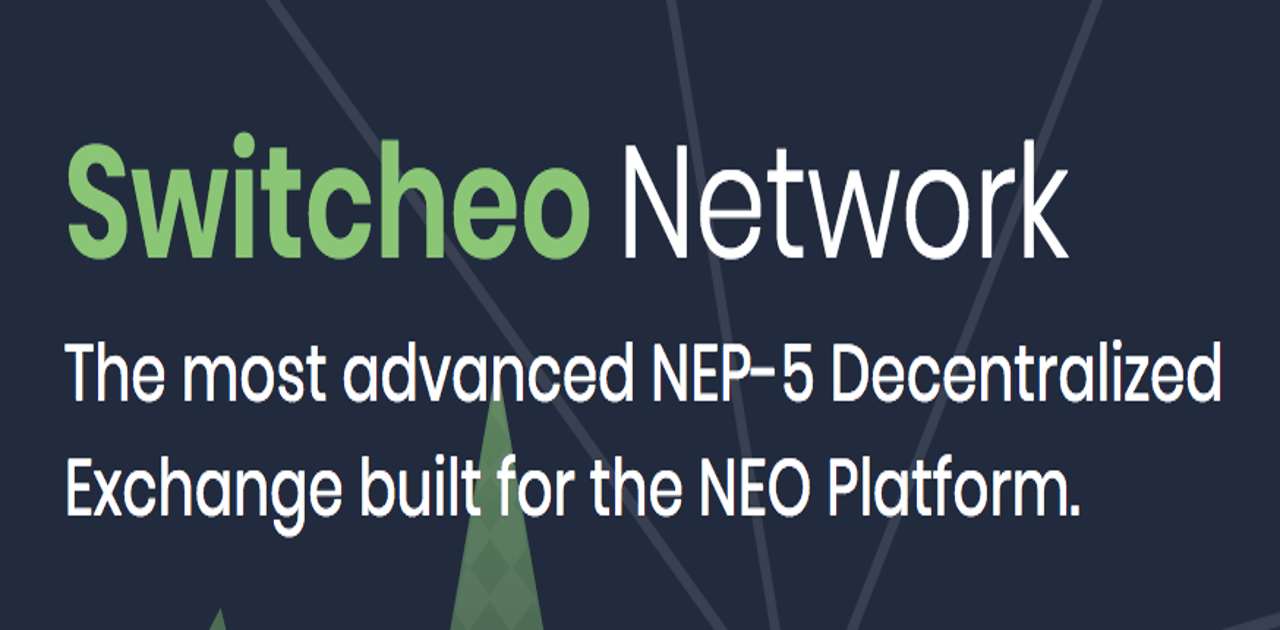 Switcheo Network, decentralized exchange sur Neo
