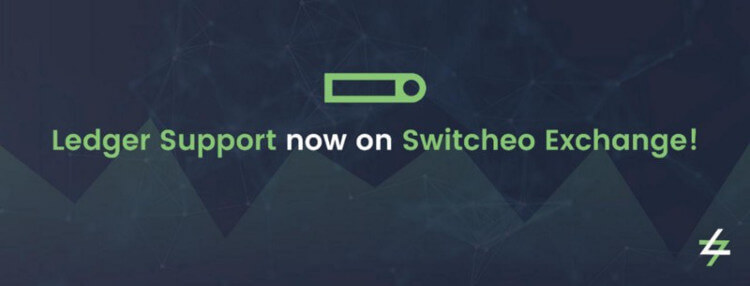 DEX Switcheo.Exchange - Support of Ledger wallet