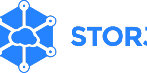 Bannière du logo de Storj