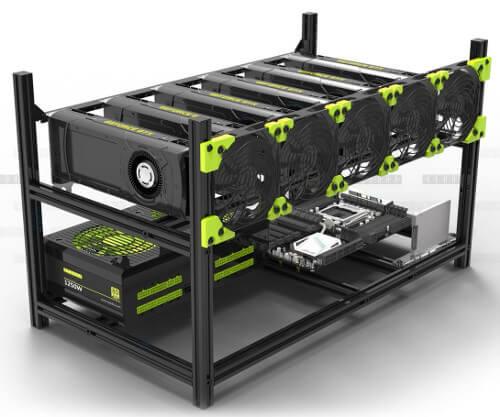 Armature rig horizontal en aluminium