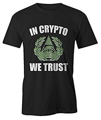 T-shirt In Crypto We Trust