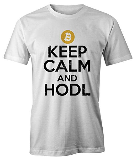 T-shirt Keep calm and hold