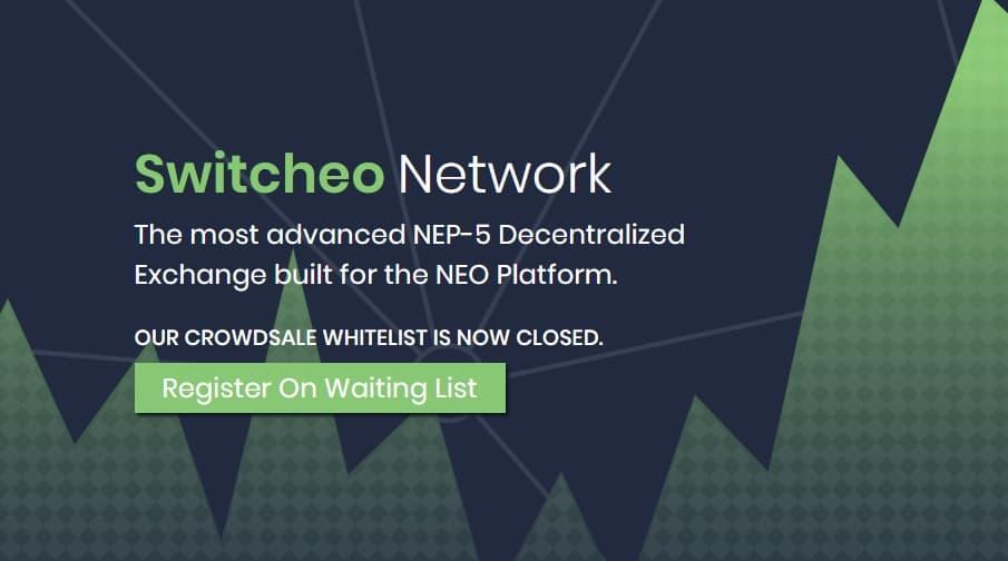 Switcheo l'exchange décentralisé pour Neo