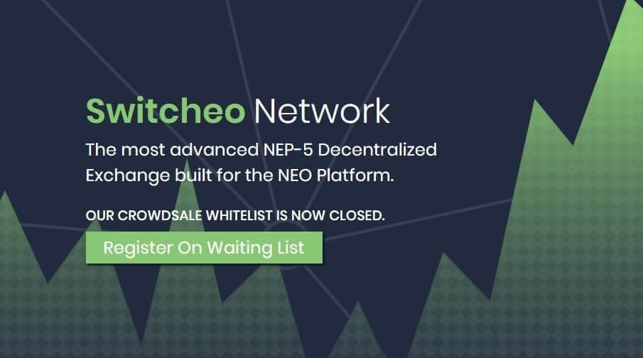 Bannière de Switcheo Network