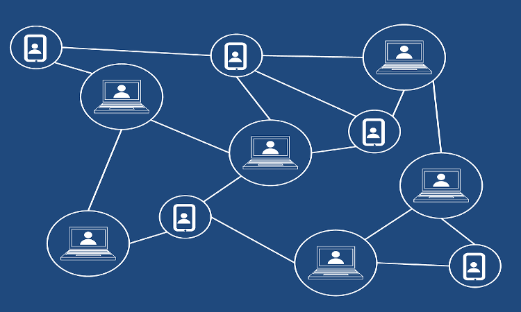 Représentation d'un réseau décentralisé