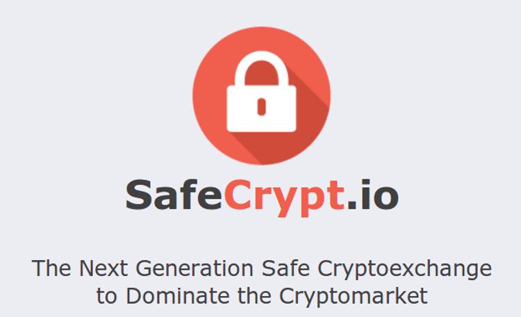 Bannière de SafeCrypt